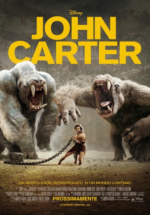John Carter - poster verticale