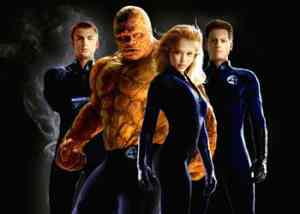 """""""I Fantastici Quattro"""" nel film del 2005"""