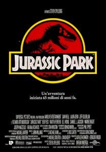 "Locandina film ""Jurassic Park"""