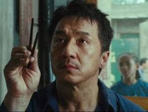 "Jackie Chan in ""I Mercenari 3"""