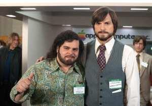 Josh Gad e Ashton Kutcher in un'immagine di jOBS: Get Inspired