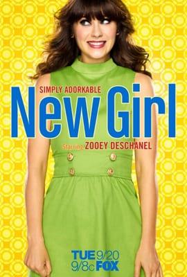 """La locandina della prima stagione di """"New girl"""""""