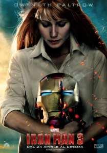 Gwyneth Paltrow è Pepper Potts nel character poster di Iron Man 3