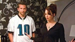 Bradley Cooper e Jennifer Lawrence, protagonisti de Il lato positivo