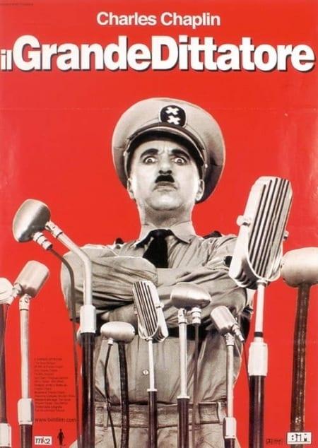 """La locandina de """"Il grande dittatore"""""""