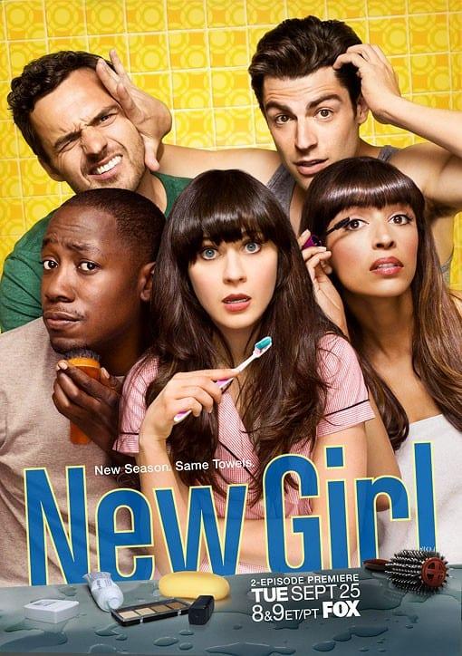 """Il poster di """"New girl"""""""