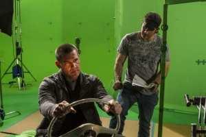 Josh Brolin e Robert Rodriguez nel dietro le quinte di Sin City: Una donna per cui uccidere