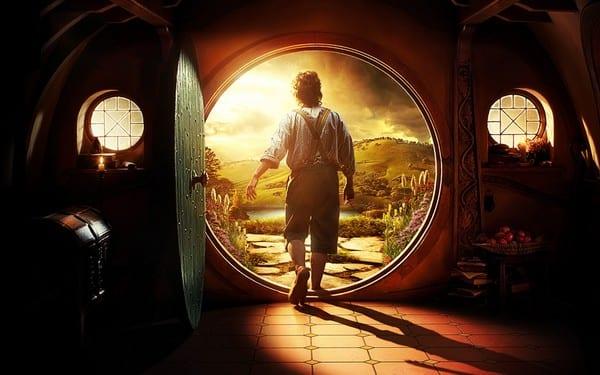 Un dettaglio del poster de Lo Hobbit - Un Viaggio Inaspettato