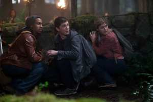 I tre protagonisti di Percy Jackson
