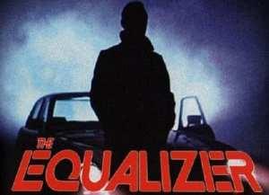 """L'ormai famoso poster della serie televisiva """"The Equalizer"""""""