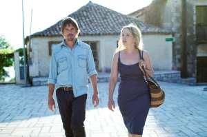 Ethan Hawke e Julie Delpy in un'immagine di Before Midnight