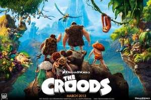 Il poster americano de I Croods, nuovo film Dreamworks