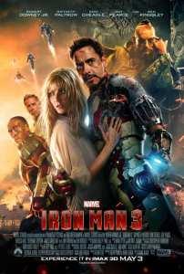 L'Imax poster di Iron Man 3
