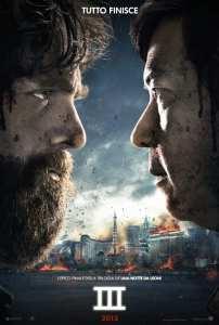 La versione italiana del teaser poster di Una notte da leoni 3