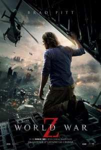 Il poster italiano di World War Z