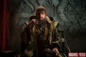 Ben Kingsley nei panni del Mandarino in Iron Man 3
