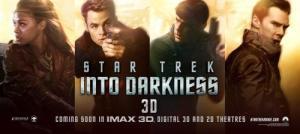 Un banner promozionale per Into Darkness