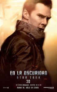 Benedict Cumberbatch nel character poster del film di J.J. Abrams