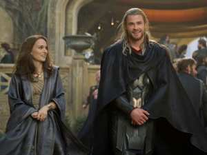 Natalie Portman e Chris Memsworth