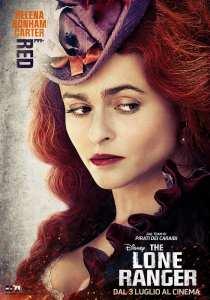 Helena Bonham Carter nei panni di Red