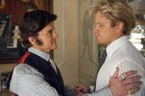 Michael Douglas e Matt Damon in un'immagine di Behind the Candelabra