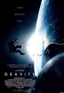 Il poster italiano di Gravity