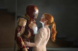 Robert Downey Jr. e Gwyneth Paltrow in Iron Man 3