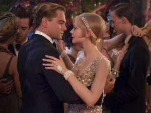 Leonardo Di Caprio e Carey Mulligan in una scena de Il grande Gatsby