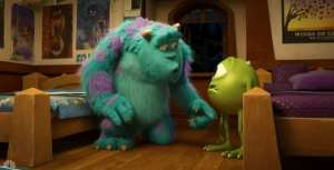 Mike e Sulley nella nuova clip di Monsters University