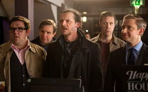 I protagonisti di The World's End di Edgar Wright