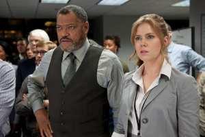 Laurence Fishburne e Amy Adams sono i protagonisti della prima clip de L'uomo d'acciaio