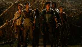 Una scena di The Maze Runner