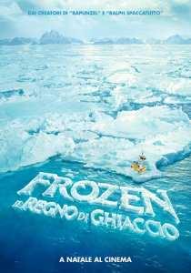 Teaser poster di Frozen - Il Regno di ghiaccio