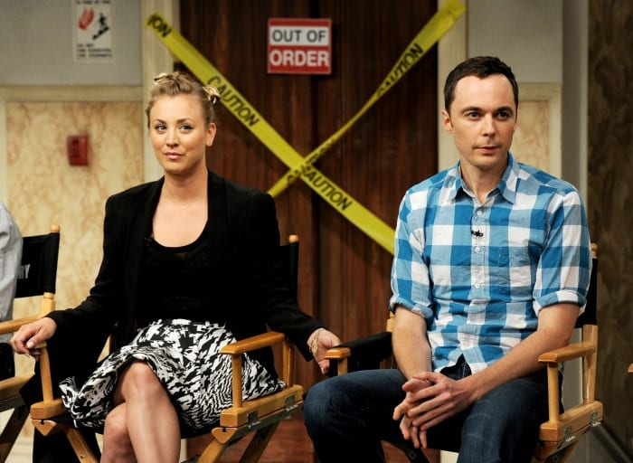 Kaley Cuoco e Jim Parsons | © Kevin Winter / Getty Images