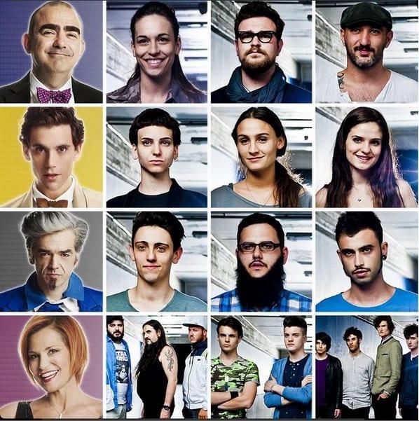 I nuovi concorrenti di X Factor © Twitter