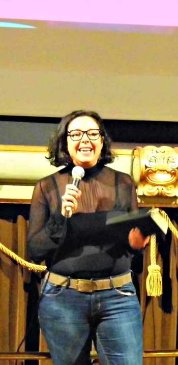 Valentina Pagliai al Florence Queer Festival | © CineZapping