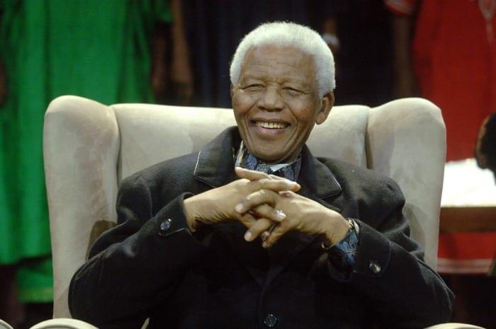 Nelson Mandela   © LIONEL HEALING / Getty Images