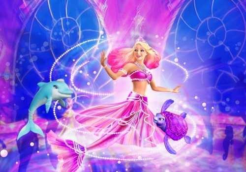 Barbie La Principessa Delle Perle In Anteprima Allacquario Di Genova