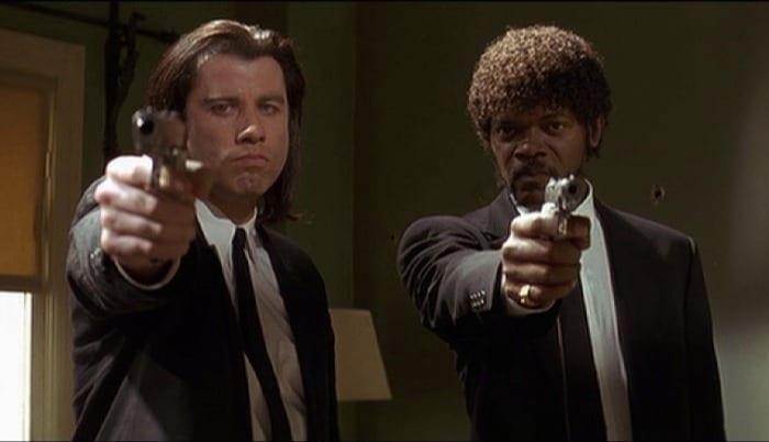 "Una scena di ""Pulp Fiction"""