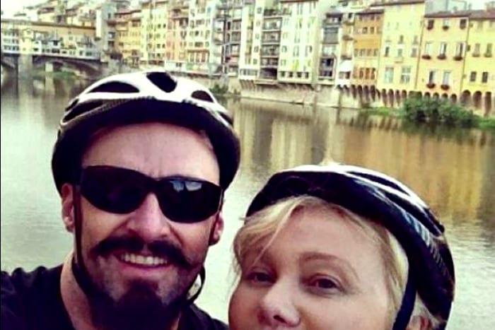 Hugh Jackman a Firenze
