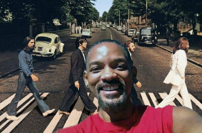 Will Smith con i Beatles