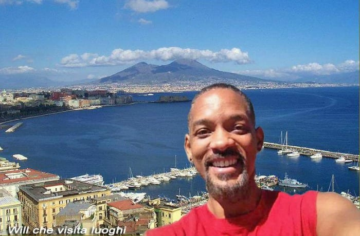 Will Smith a Napoli