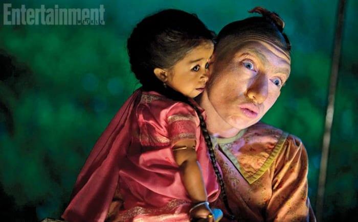 "Pepper in ""American Horror Story: Freak Show"" | © Entertainment Weekly"