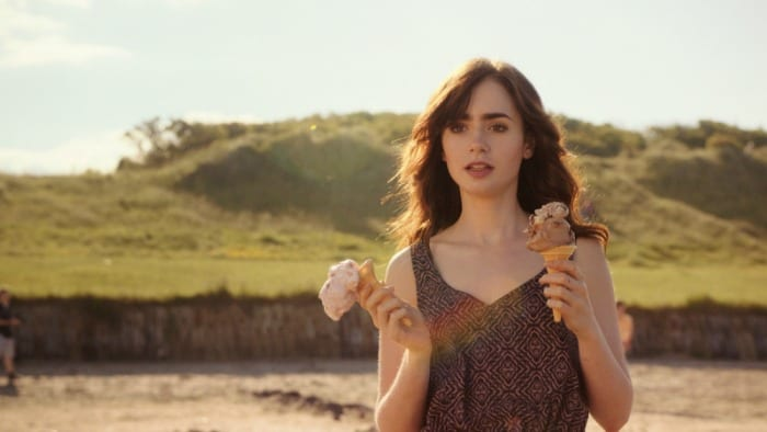 Lily Collins in #ScrivimiAncora