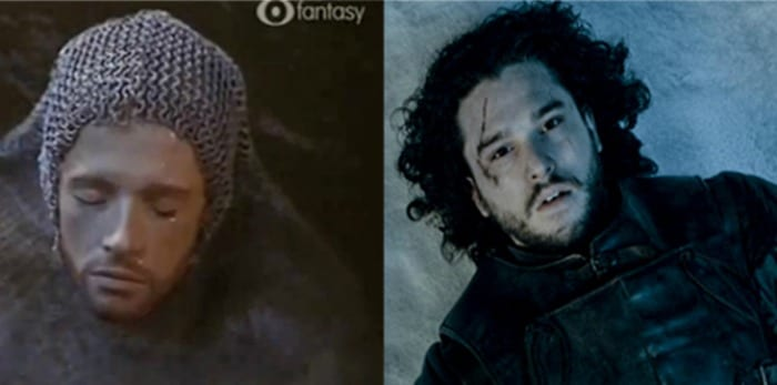 Jon Snow e Romualdo