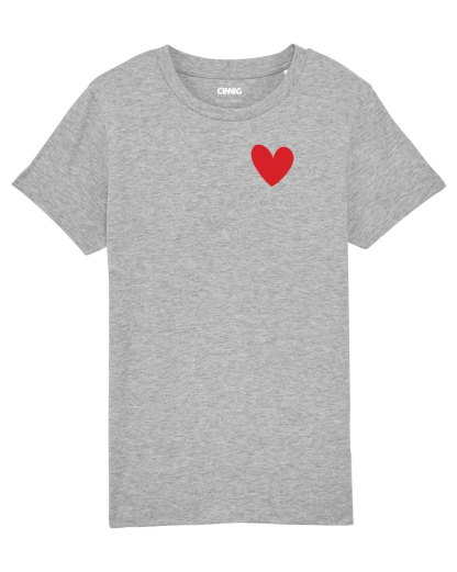 Gret Organic Kids' T-shirt with heart print