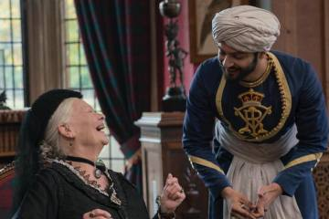 Victoria and Abdul - Confident Royal