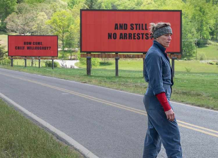 Three Billboards outside Ebbing in Missouri