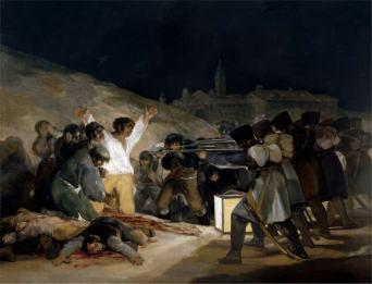 Il 3 maggio 1808 di Francisco Goya