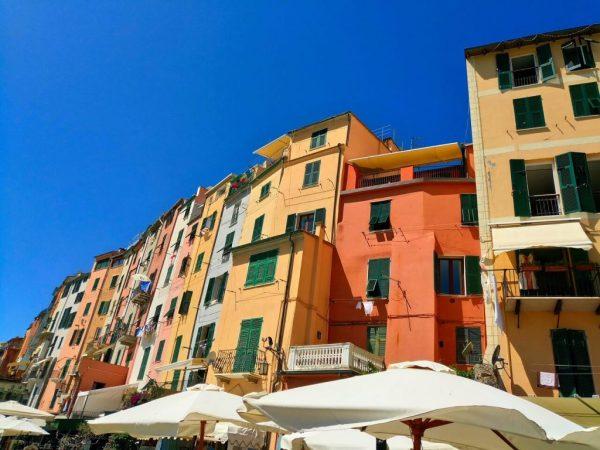 Maisons colorees Portovenere